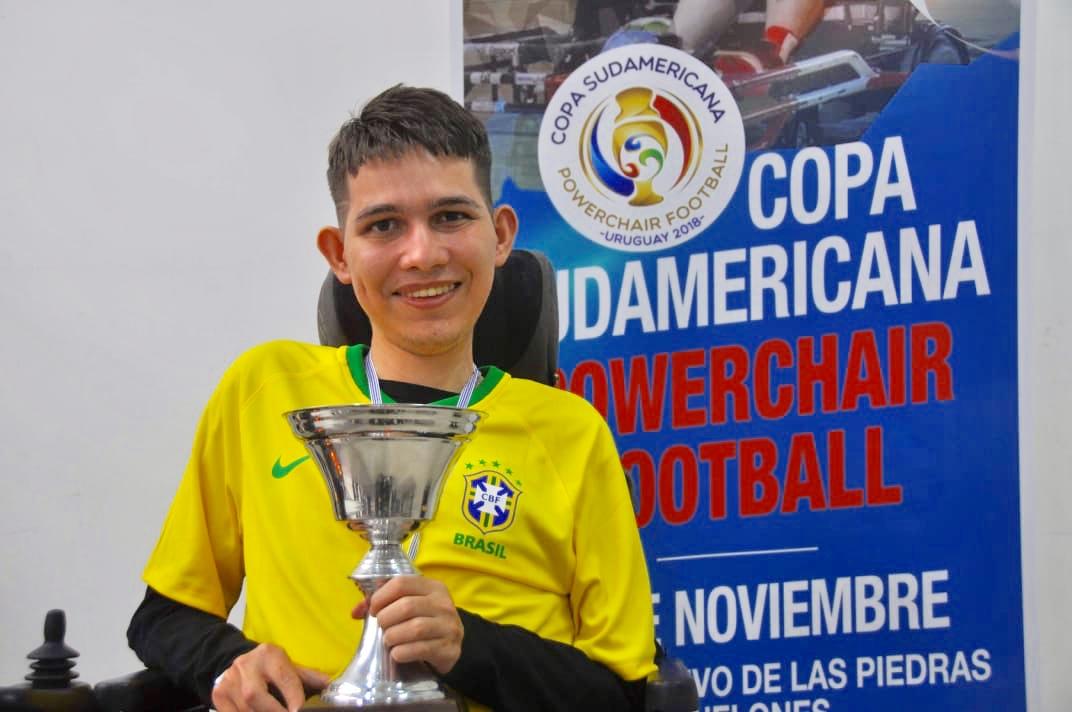 Atleta Pedro Henrique, convocado para seleção brasileira