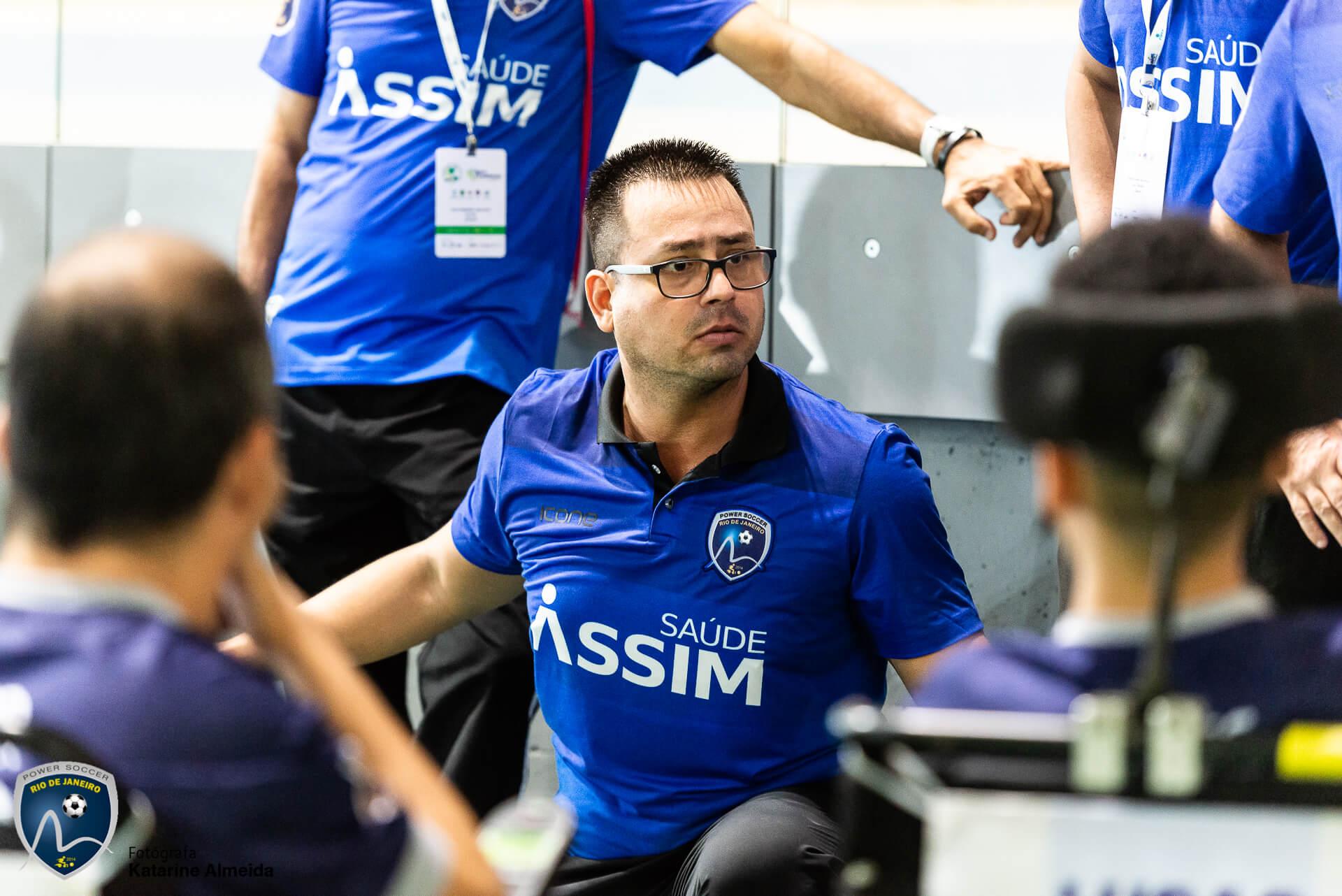 Jaime Torres, técnico - Rio de Janeiro Power Soccer
